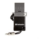 Verbatim Store 'n' Go 32GB USB 2.0 Type-A Black,Silver USB flash drive