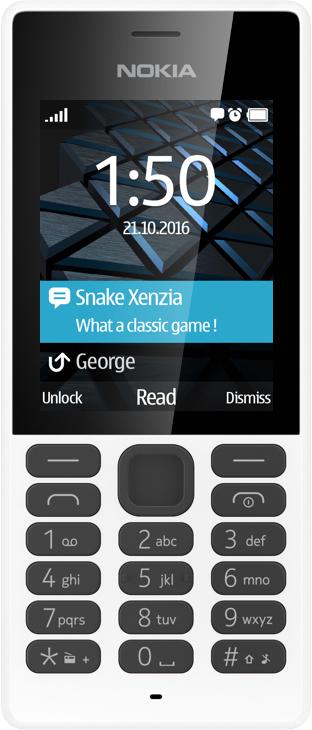 "Nokia 150 2.4"" 81g White Feature phone"