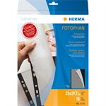 HERMA Photo cardboard 230x297 mm black 10 sheets
