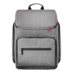 "Mobilis 025008 notebook case 40.6 cm (16"") Backpack Grey"