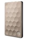 Seagate Backup Plus Ultra Slim 1000GB Gold external hard drive