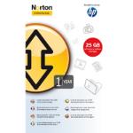 Hewlett Packard Enterprise Norton 1-yr 25GB Online Backup Service