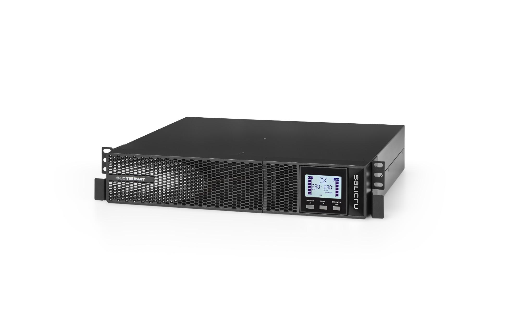 UPS Slc-3000-twin Rt2 3000va/2700w 9 X Iec Line Interactive Black