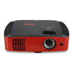 Acer Predator Z650 Beamer/Projektor 2200 ANSI Lumen DLP 1080p (1920x1080) Desktop-Projektor Schwarz, Rot