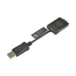 2-Power ALT8533A video cable adapter DisplayPort VGA (D-Sub) Black