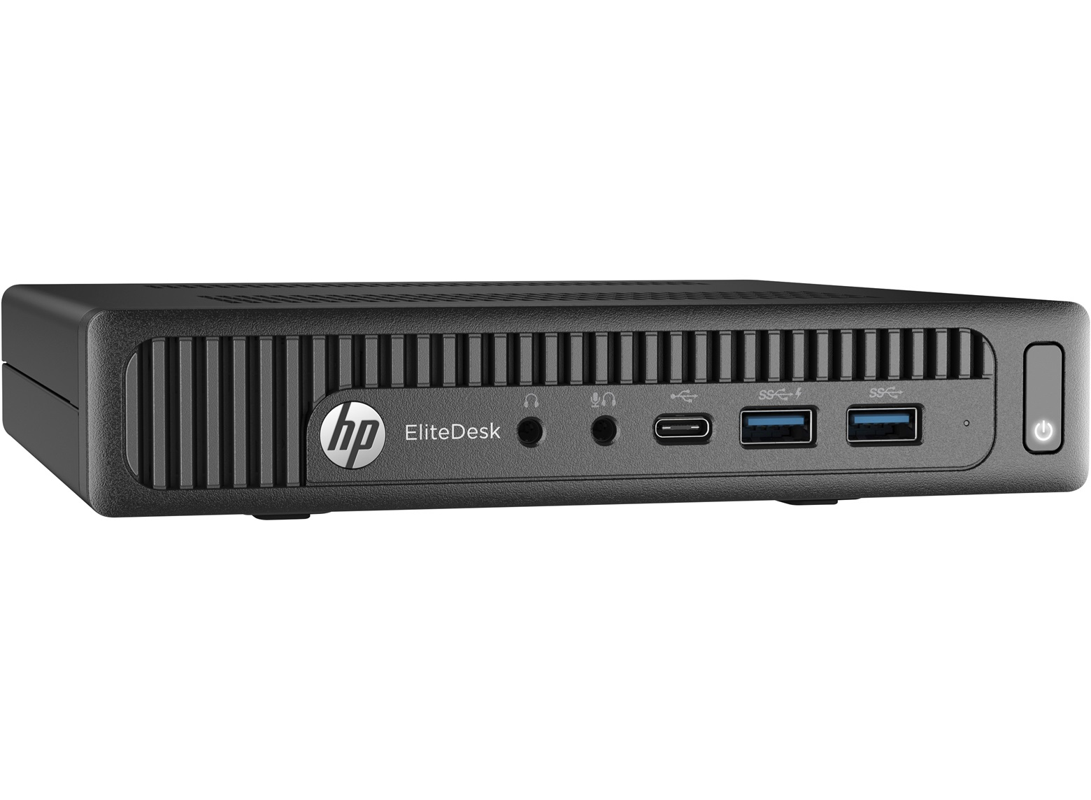 HP EliteDesk 800 G2 3.2GHz i3-6100T 1L sized PC Black Mini PC
