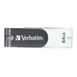 Verbatim Store'n'Go 64GB USB 2.0 USB Type-A connector Grey, White USB flash drive