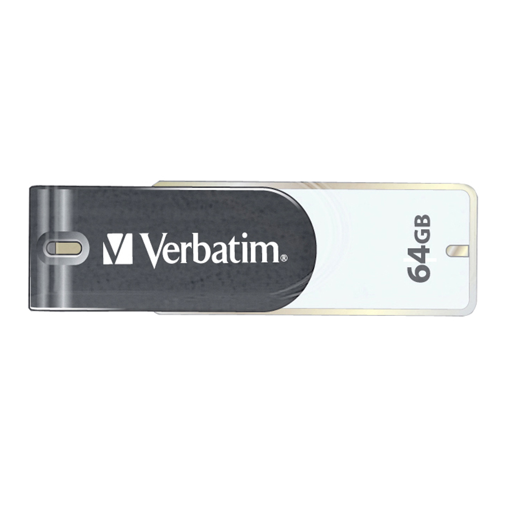 Verbatim Store'n'Go 64GB USB 2.0 USB Type-A connector Grey, White USB flash drive