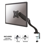 "Newstar NM-D500BLACK 30"" Black flat panel desk mount"