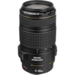 Canon EF 70-300mm f4-5.6 IS USM Black