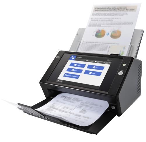 Fujitsu N7100E ADF scanner 600 x 600 DPI A4 Black