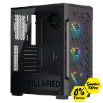 Gorilla Gaming LEVEL: 2.2 Signature Edition - i7 9700K 3.6GHz, 16GB RAM, 256GB NVMe SSD, 1TB, RTX 2060 Super 8GB