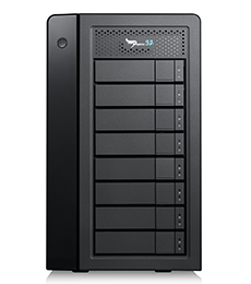 Promise Technology Pegasus32 R8 disk array 32 TB Tower Black