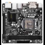 Asrock H81M-ITX Intel H81 Socket H3 (LGA 1150) Mini ITX motherboard
