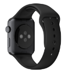 Apple MJ4N2ZM/A Band Black Fluoroelastomer