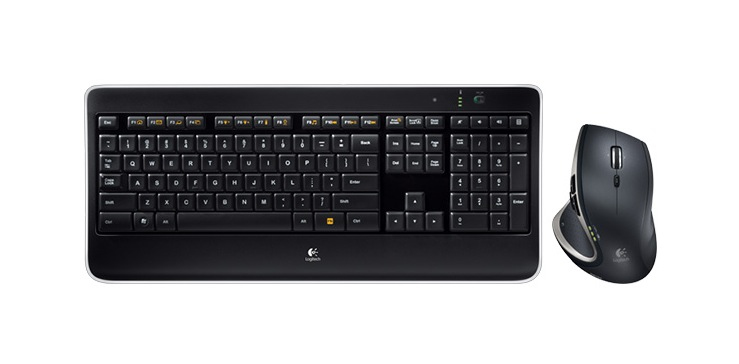 Logitech MX800 RF Wireless QWERTY Pan Nordic Black keyboard