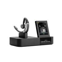 Jabra Motion Office Monaural Ear-hook Black, Silver headset