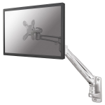 "Newstar TV/Monitor Wall Mount (Full Motion & gas spring height adjustable) for 10""-30"" Screen - Silver"