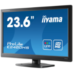 "iiyama ProLite E2480HS 23.6"" Full HD TN+Film Black computer monitor"