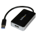 StarTech.com Adaptador de Vídeo Externo USB 3.0 a HDMI con Hub USB 1 Puerto - Tarjeta Gráfica Cable - 1080p