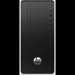 HP 295 G6 DDR4-SDRAM 3350G Micro Tower AMD Ryzen 5 PRO 8 GB 256 GB SSD Windows 10 Pro PC Black