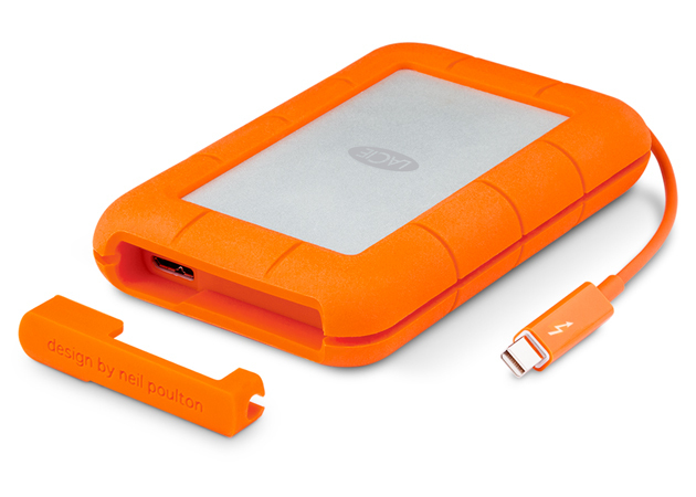 LaCie Rugged 500GB Grey, Orange