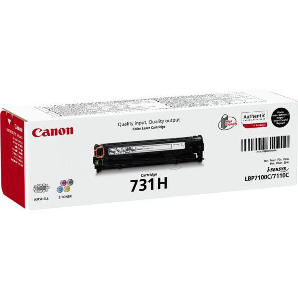 Canon 6273B002 (731H) Toner black, 2.4K pages