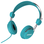 LASER Headphones Stereo Kids Friendly Colourful Blue