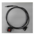 Zebra CBL-HS2100-12S1-01 3.5mm Negro adaptador de cable