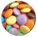 Fellowes Round Brite Mat Smarties