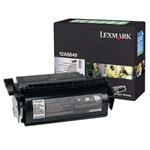 Lexmark 12A5849 Toner black, 25K pages