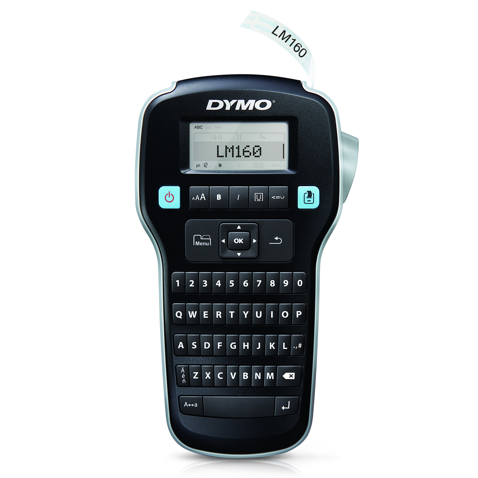 DYMO LabelManager 160 label printer Thermal transfer 180 x 180 DPI D1 QWERTY