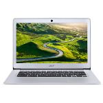 "Acer Chromebook 14 CB3-431-199D 35.6 cm (14"") 1366 x 768 pixels Intel Atom® 2 GB LPDDR3-SDRAM 32 GB Flash Wi-Fi 5 (802.11ac) Chrome OS Silver"
