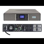 Eaton 9PX 1500RTN Double-conversion (Online) 1500VA 8AC outlet(s) Rackmount/Tower Black,Silver uninterruptible power supply (UPS)