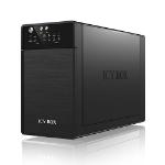 ICY BOX IB-RD3620SU3 Desktop Black disk array