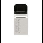 Transcend JetFlash 880 OTG 64GB 64GB USB 3.0/Micro-USB Black,Silver USB flash drive