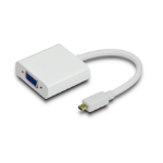 Astrotek Mini HDMI - VGA M/F 0.2m White