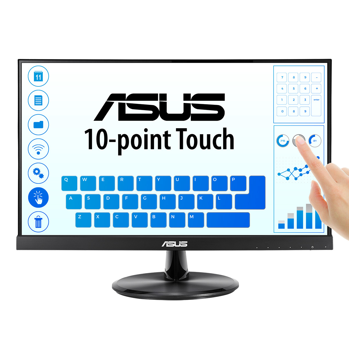 ASUS VT229H computer monitor 54.6 cm (21.5
