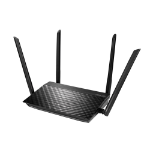 ASUS RT-AC59U V2 wireless router Gigabit Ethernet Dual-band (2.4 GHz / 5 GHz) Black