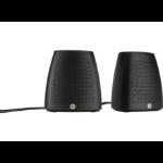 HP S3100 2.4W Black loudspeaker