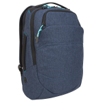 "Targus Groove X2 Max notebook case 38.1 cm (15"") Backpack Navy"