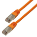 MCL 2m Cat5e F/UTP cable de red F/UTP (FTP) Naranja