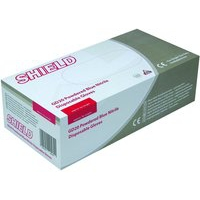 SHIELD BLUE PP NITRILE GLOVES M PK100