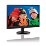 "Philips V Line 193V5LHSB2/55 computer monitor 47 cm (18.5"") WXGA LCD Flat Black"