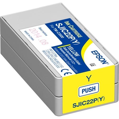 Epson C33S020604 (SJI-C-22-P-(Y)) Ink cartridge yellow, 33ml