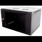 "Eco NetCab 12U 450mm 19"" Data / Comms / Rack Wall Cabinet (Flat Pack) - Black"