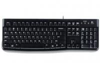 Logitech K120 keyboard USB QWERTY Pan Nordic Black
