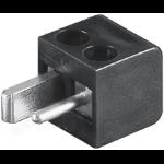 Microconnect AUDSPEAK1 electrical power plug Black