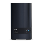 Western Digital My Cloud EX2 Ultra Ethernet LAN Desktop Black NAS