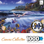 SURE-LOX PUZZLE SURE-LOX 68.58X48.26CM CANVAS COLLECTION 1000PC SEA LIFE ( EACH )